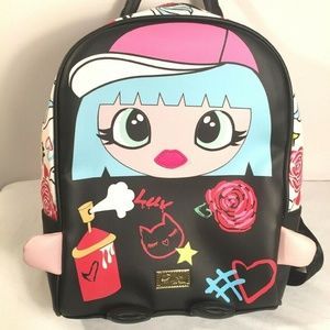 Luv Betsey Backpack Purse By Betsey Johnson Color